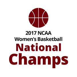 Infographid: 2017 NCAA Women's Basketball National Champs