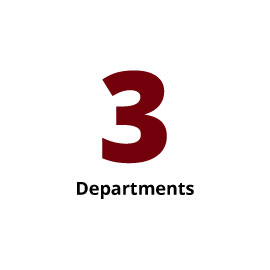 Infographic: 3 departments